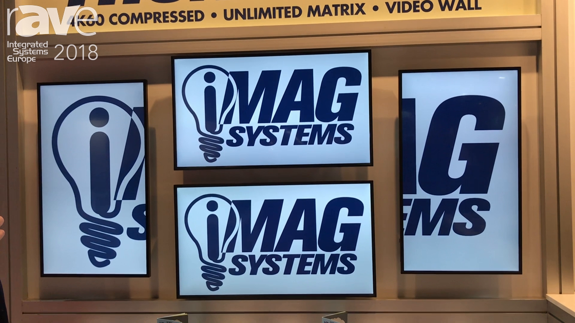 ISE 2018: iMAG Systems Features THUNDER AV-Over-IP Solution Using JPEG2000 Compression
