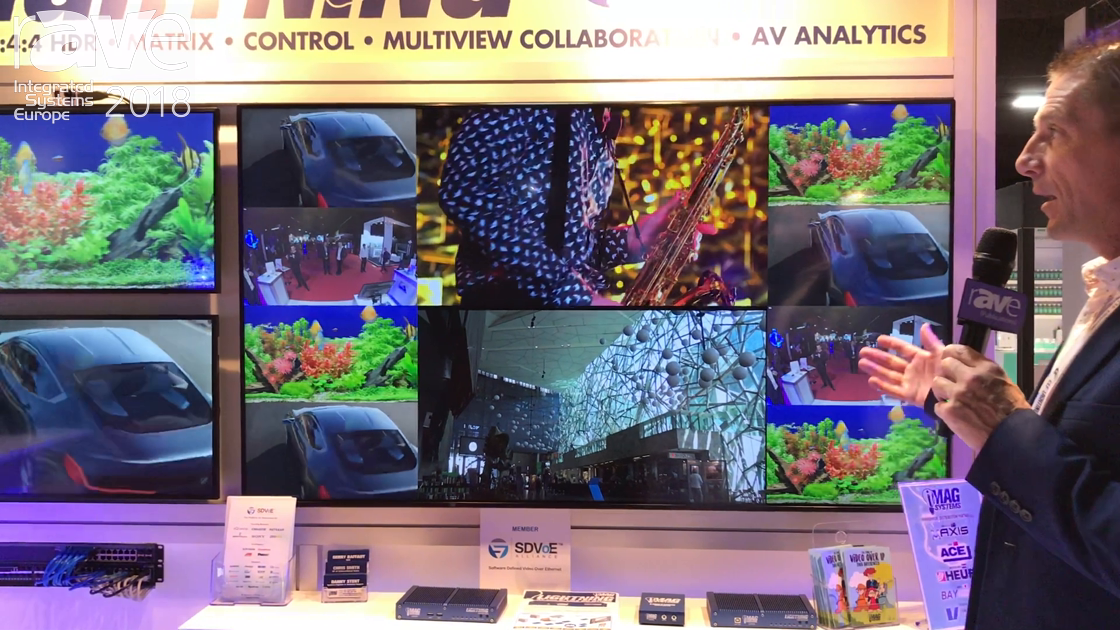 ISE 2018: iMAG Systems Presents LIGHTNING Video-Over-IP System With SDVoE Chip Sets