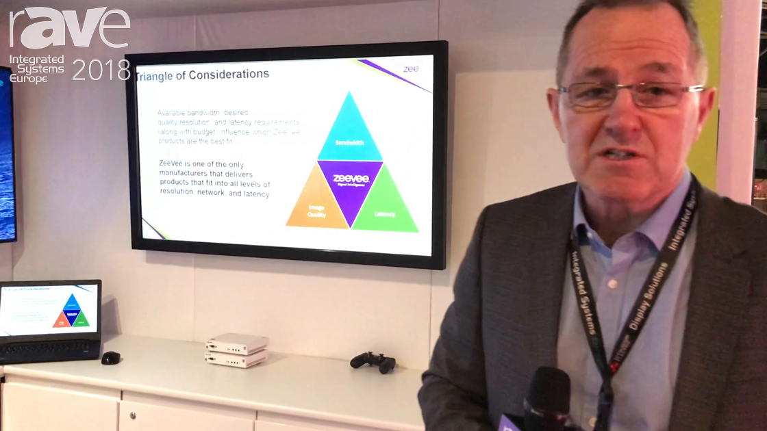 ISE 2018: ZeeVee Talks Triangle of Considerations for Sending Video Over the Network