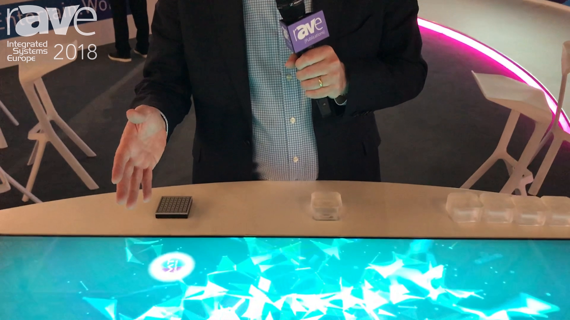 ISE 2018: Multitaction Features Display 3D Touch Touch Technology with Infinite Touch Points