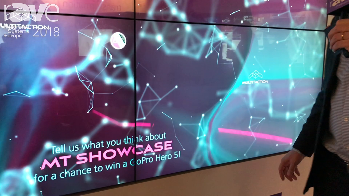 ISE 2018: Multitaction Demos MT Showcase for Rich Media Presentations