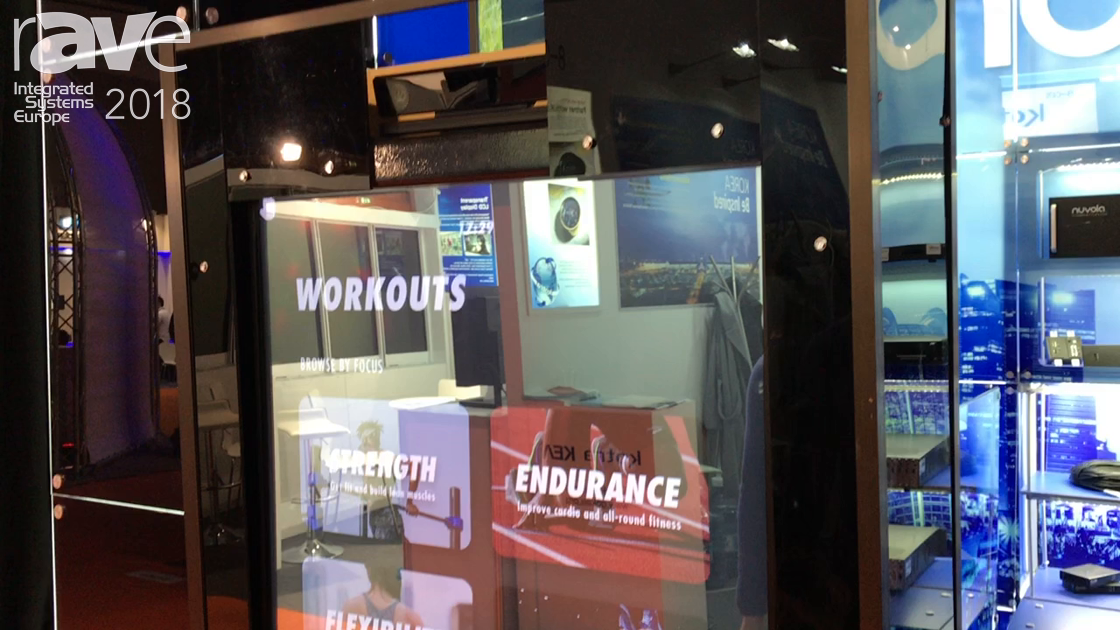 ISE 2018: Nuvola Media Showcases E-Trainer For Personalized Workouts Without A Gym