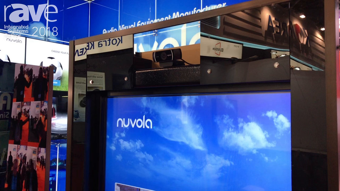 ISE 2018: Nuvola Media Shows Animated GIF Booth For Malls And Interactive Events
