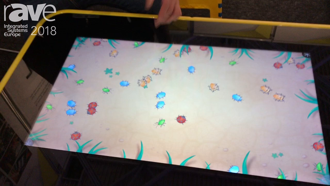 ISE 2018: Think Touch Announces 10 Touch Point Game Table For Entertainment