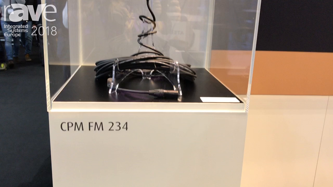 ISE 2018: Cordial Highlights CPM FM 234 Microphone Cable and CSE HH 7A Long-Run-SD Ethernet Cable