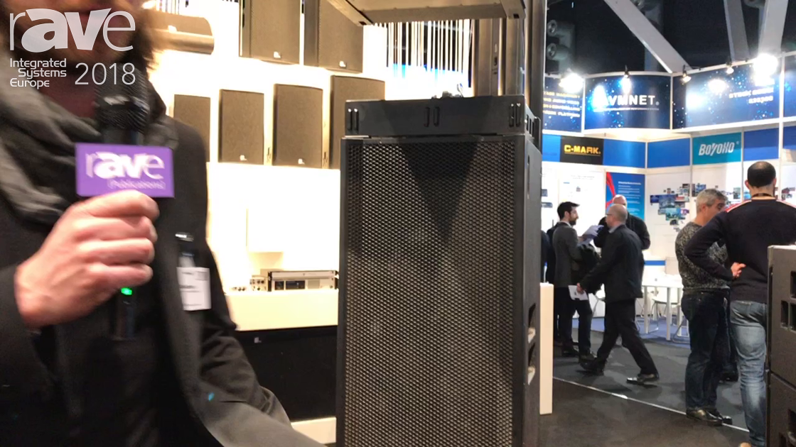 ISE 2018: Fohhn Audio Highlights Focus Venue Straight Line Array Speakers