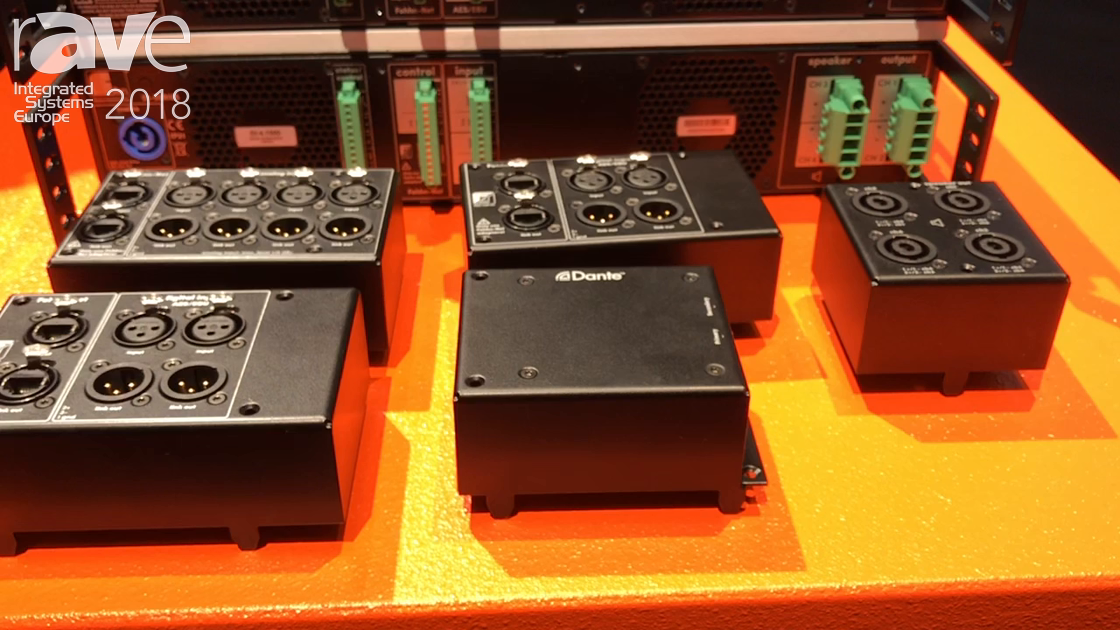 ISE 2018: Fohhn Shows Off DI Series Amplifiers