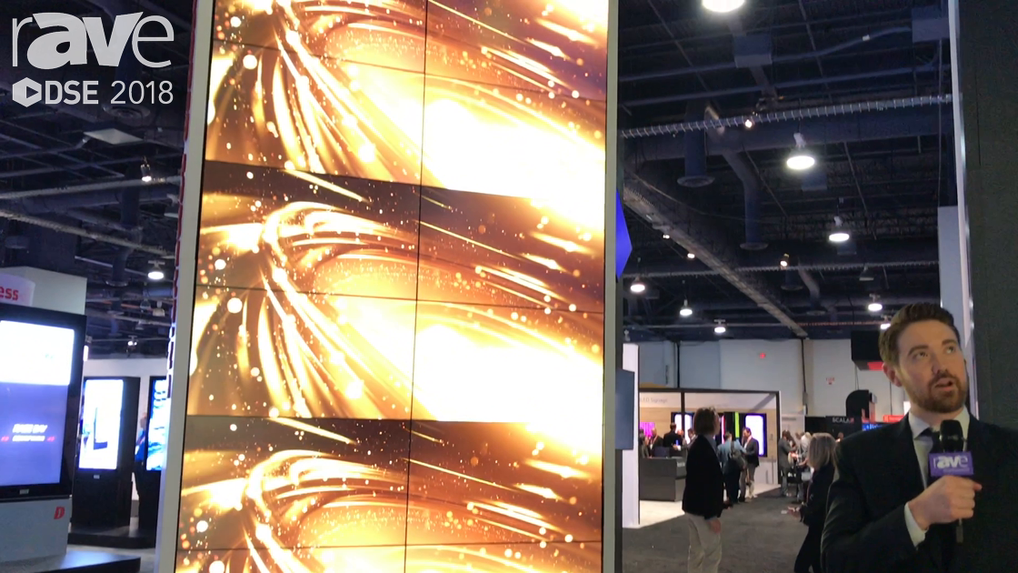 DSE 2018: NEC Display Displays LCD and Projection Install, Creating An Immersive Digital Environment