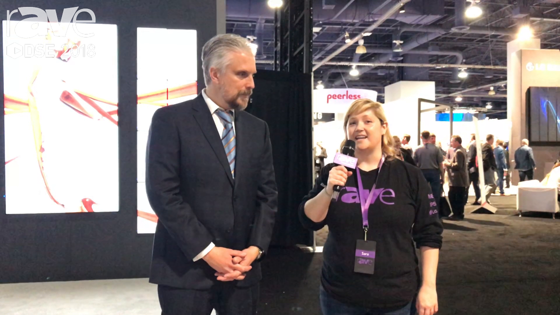 DSE 2018: Sara Abrons Talks to NEC Display's Keith Yanke, Senior Director of Product Marketing