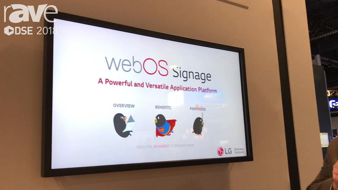 DSE 2018: LG Talks webOS Signage Application Development Platform for SoC Solutions