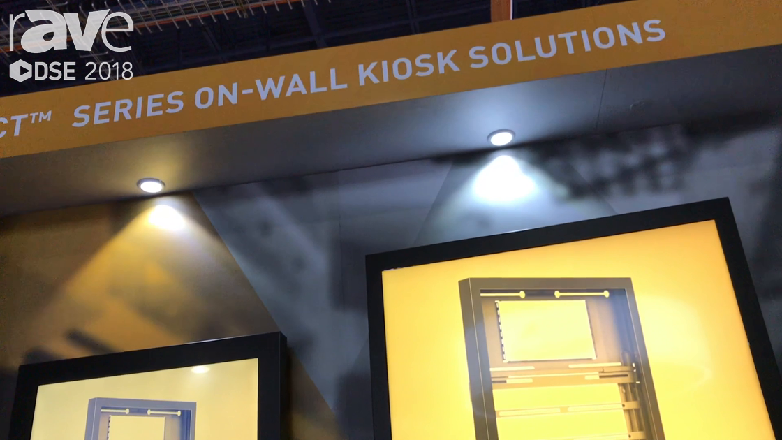 DSE 2018: Chief Manufacturing Demos Its Impact Series of On-Wall Kiosks