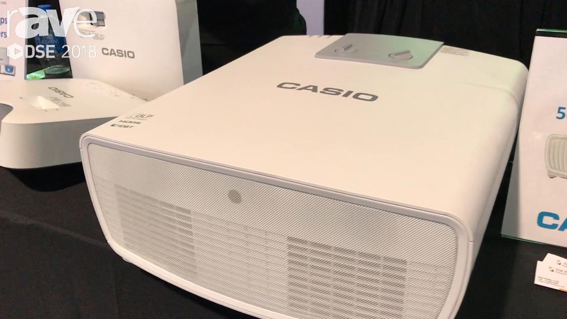 DSE 2018: Casio Showcases Its XJ-L8300HN 5000-Lumen, 4K LampFree Projector