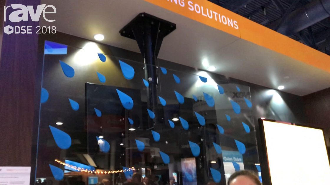 DSE 2018: Chief Manufacturing Features Its Outdoor Ceiling & Pedestal Mount With Wind Deflector