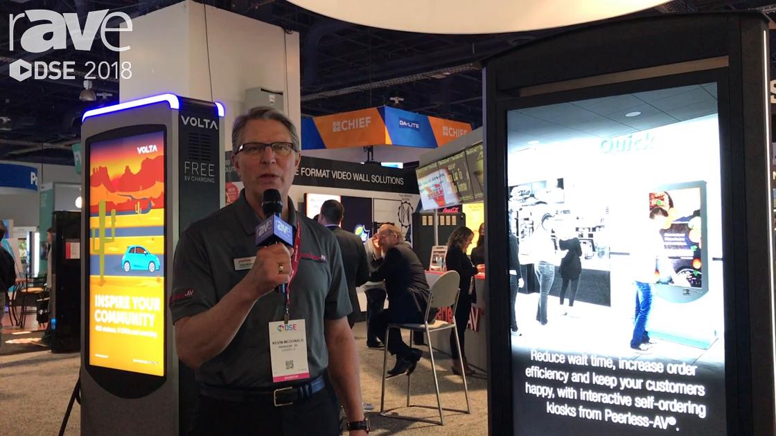 DSE 2018: Peerless-AV Showcases Its SmartCity Main Street Touch Kiosk