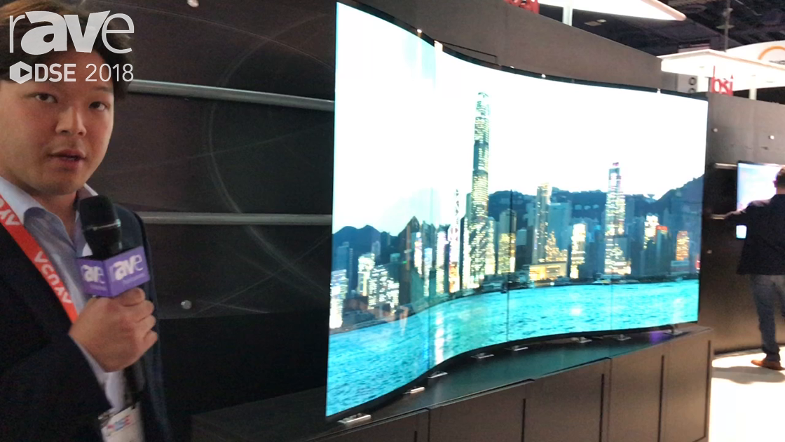 DSE 2018: Bi-Search Talks About Its OLED 55-Inch Display