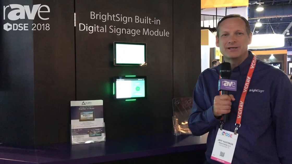 DSE 2018: BrightSign Shows Off Built-In Digital Signage Module in Room Scheduling Application