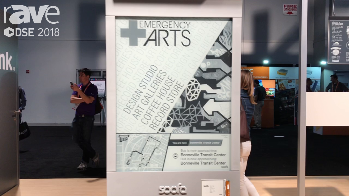 DSE 2018: E Ink Presents Soofa Transportation Information Displays