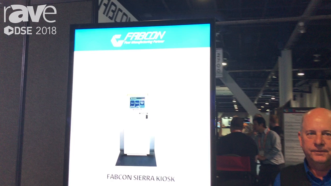 DSE 2018: Fabcon Features Outdoor Display and Indoor Wayfinding Kiosk