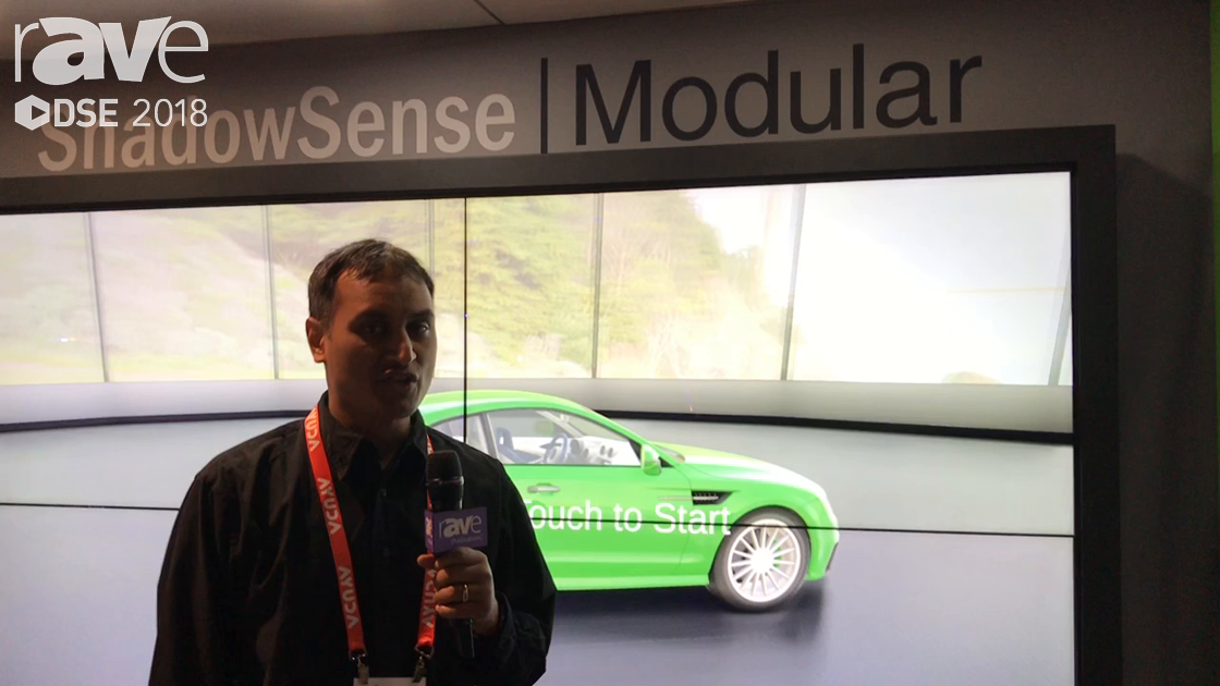 DSE 2018: Baanto Announces ShadowSense Modular With Ability To Create Any Size Video Wall