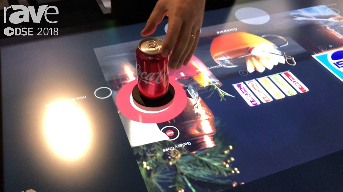 DSE 2018: DISPLAX Talks About Skin Ultra Table With Object Recognition
