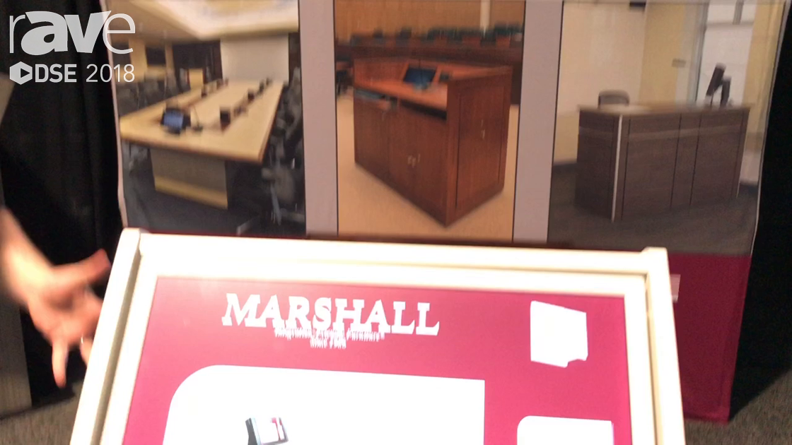 DSE 2018: Marshall Furniture Offers MKT-24 Kiosk for Digital Signage and Classroom Experiences