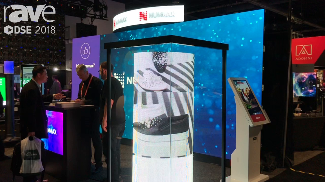 DSE 2018: Nummax Introduces Digital Display Mannequin for Retail Applications
