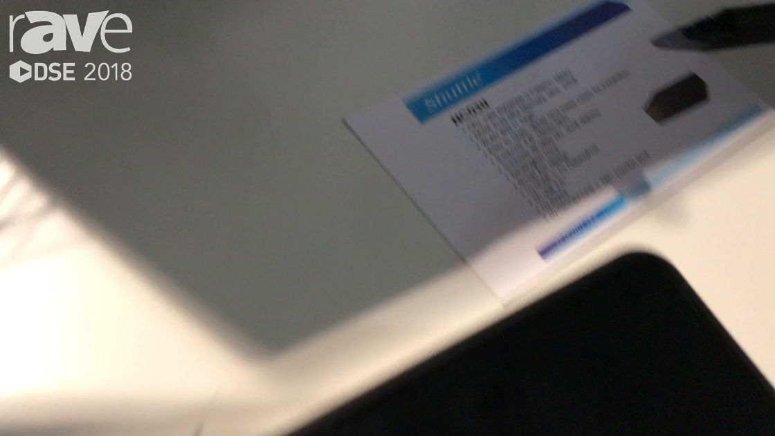 DSE 2018: Shuttle Computer Explains NC03U Mini Computer for Point of Sale And Kiosk Integration