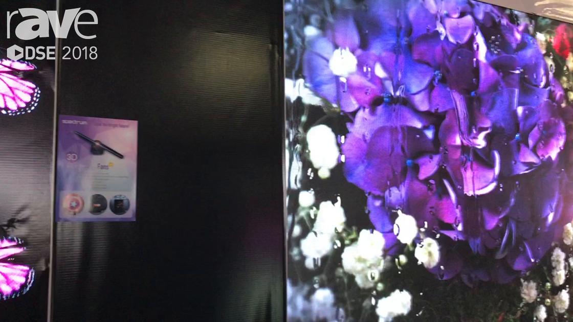 DSE 2018: Spectrum Announces 3D Hologram Fan For Engaging Retail Clients