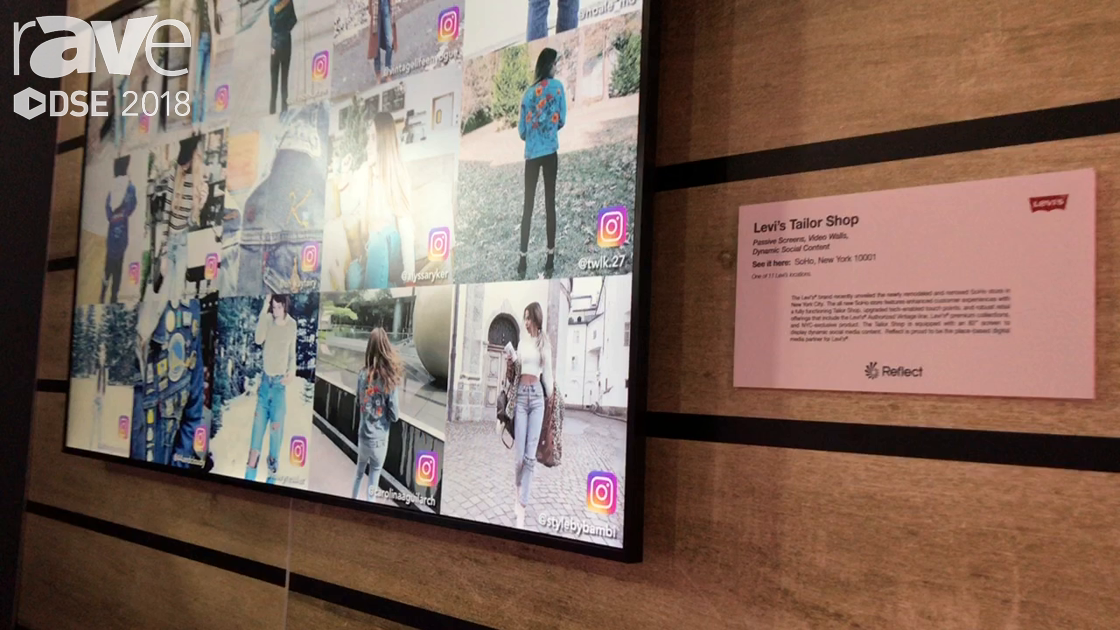 DSE 2018: Reflect Talks About Levi's Dynamic Social Content for Digital Screens