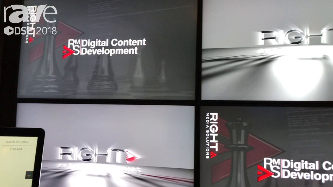 DSE 2018: Right Media Solutions Demos Interactive Content Applications with Real-Time Integration