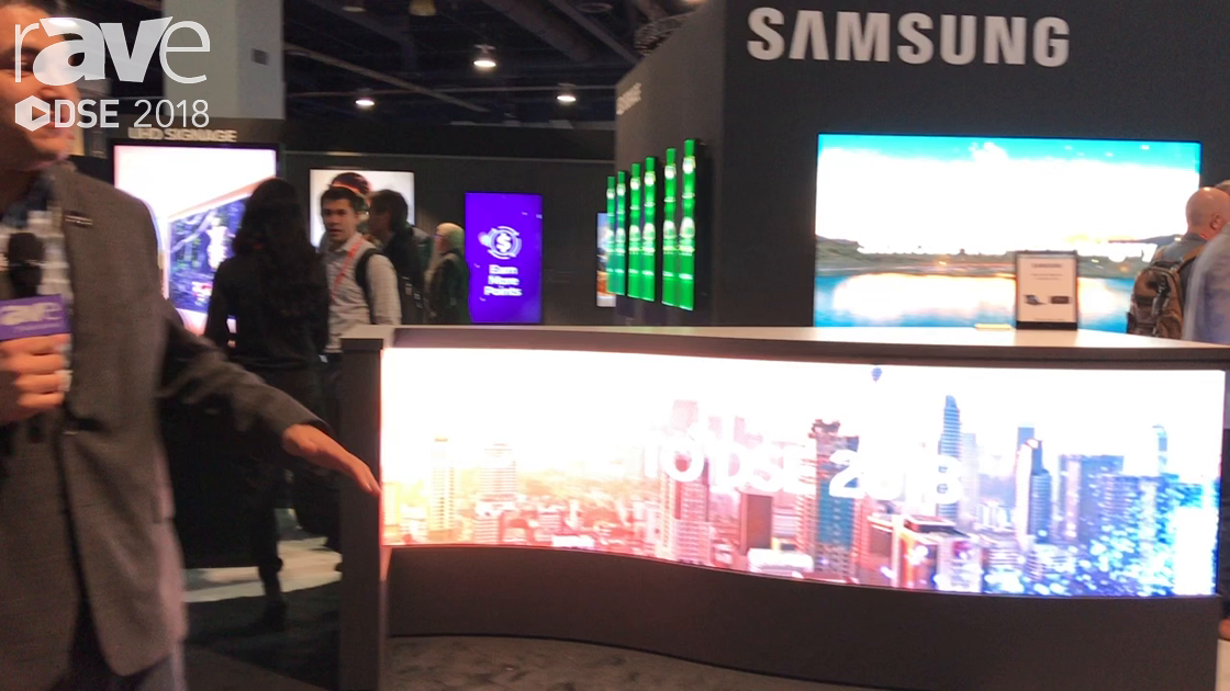 DSE 2018: Samsung Presents Indoor LED Products: 4.0mm, 1.2 IF Series and 1.5mm, 2mm and 2.5mm