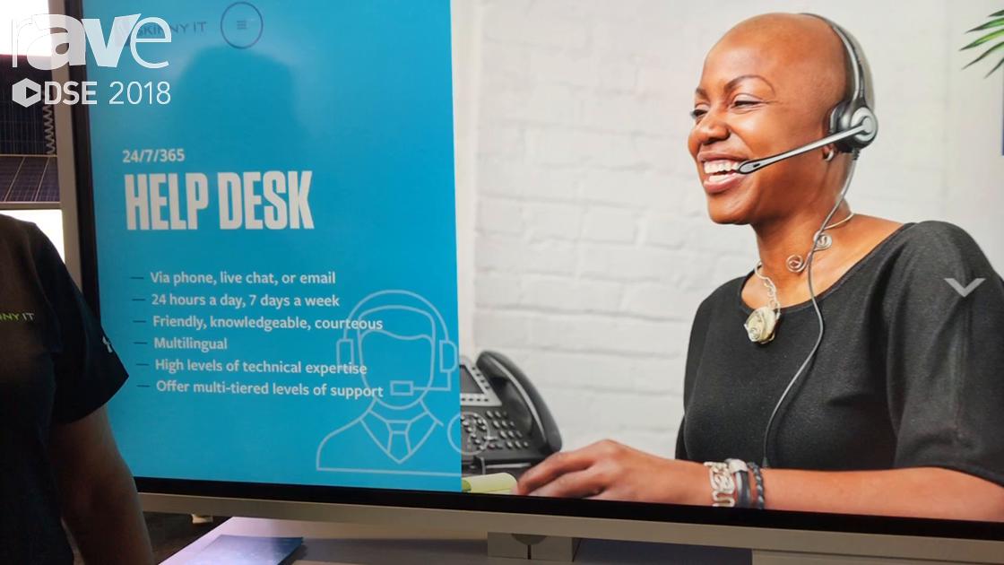 DSE 2018: Skinny IT Presents Help Desk Service