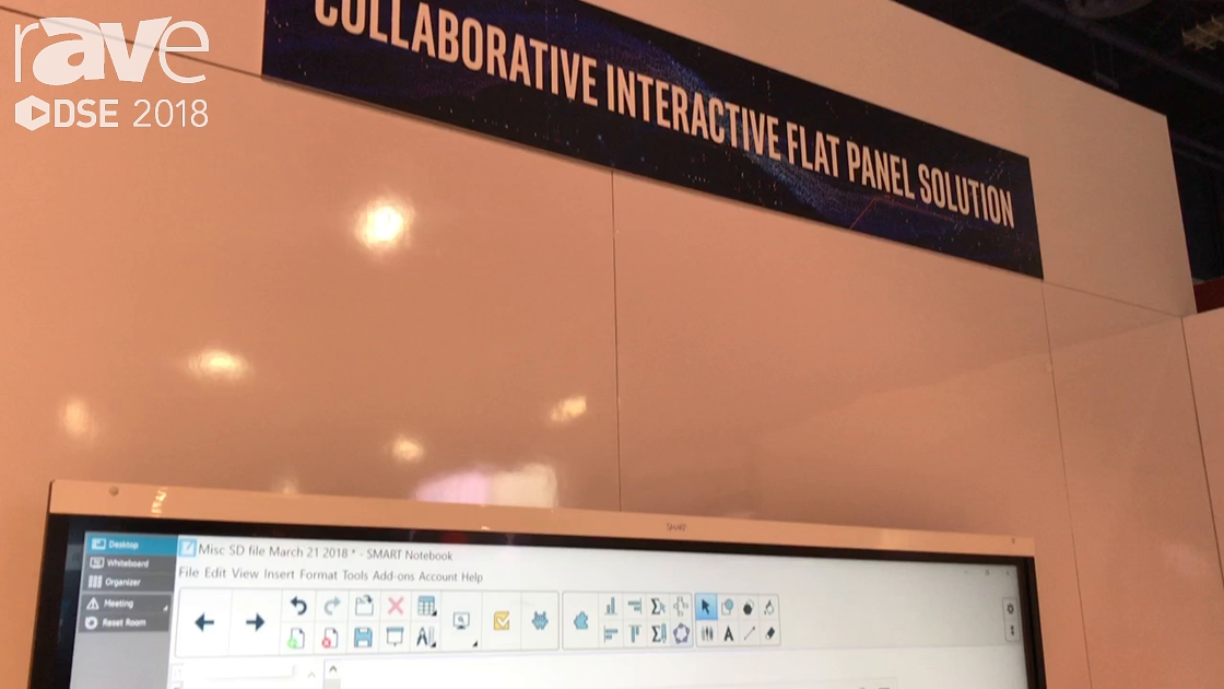 DSE 2018: SMART Technologies Presents Smart Interactive Displays for Education in the Intel Booth