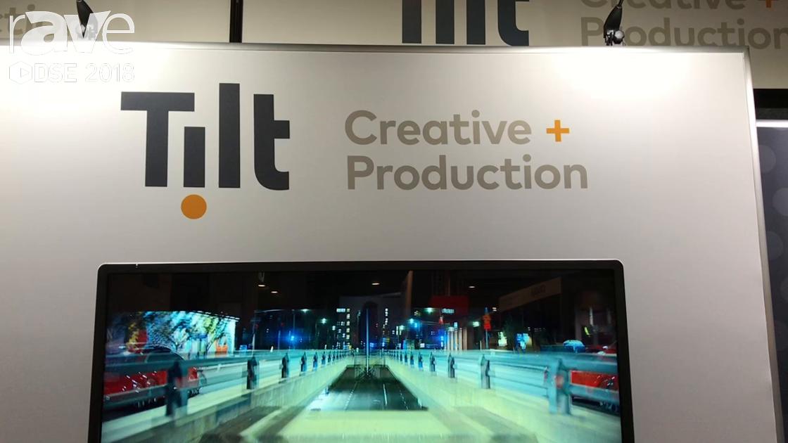 DSE 2018: Tilt Creative Production Offers Effective Digital Signage Content