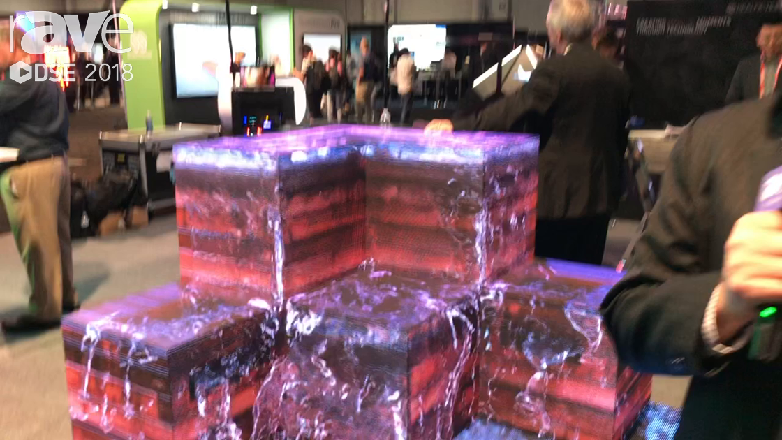 DSE 2018: CreateLED Showcases LED Display AirMAGICBOX and AirFLOOR
