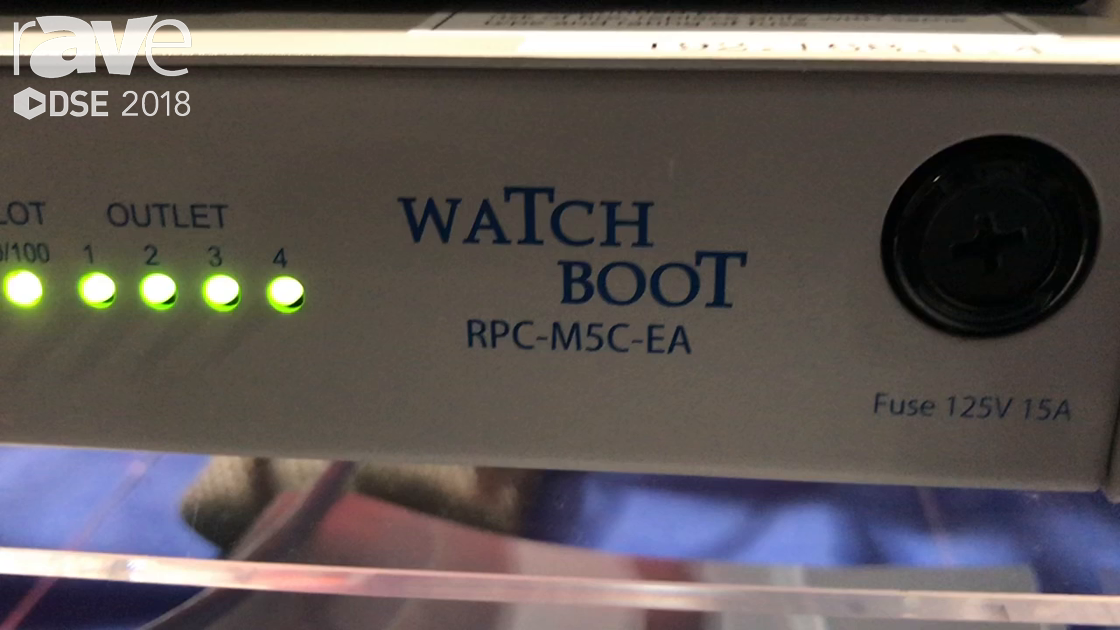 DSE 2018: Meikyo Electric Intros WatchBoot Power Remote Controller For Signage Industry