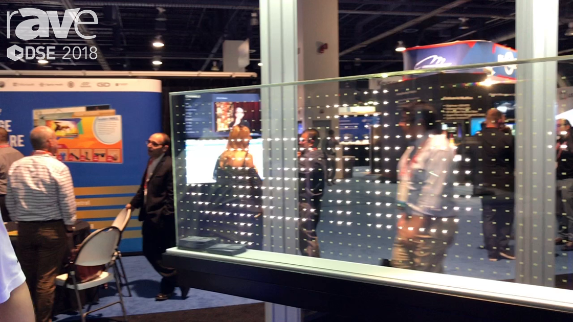 DSE 2018: Pilkington Showcases NSG Tech Product Conductive Glass Powering LED Lights