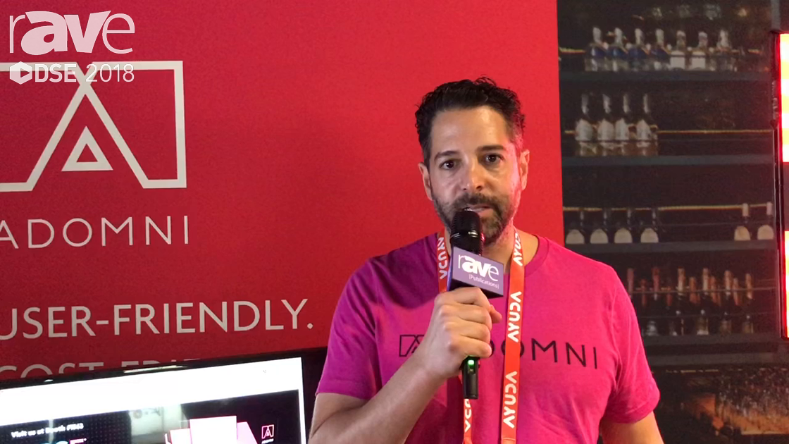 DSE 2018: Adomni Offers Digital Signage Software Platform To Manage Screens And Earn Revenue