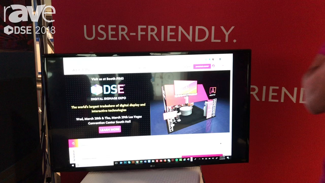 DSE 2018: Adomni Talks About Easy To Use CMS For Digital Media Boards
