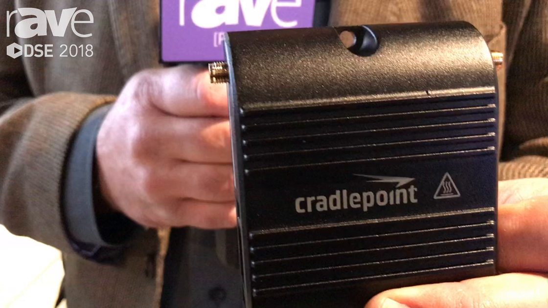 DSE 2018: Cradlepoint Intros COR IBR200 LTE Router For Cloud-Managed IoT Networking