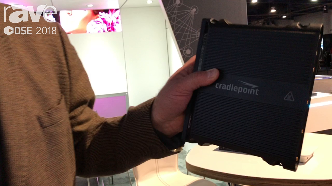 DSE 2018: Cradlepoint Talks About IBR1700 LTE Router Designed For Vehicles