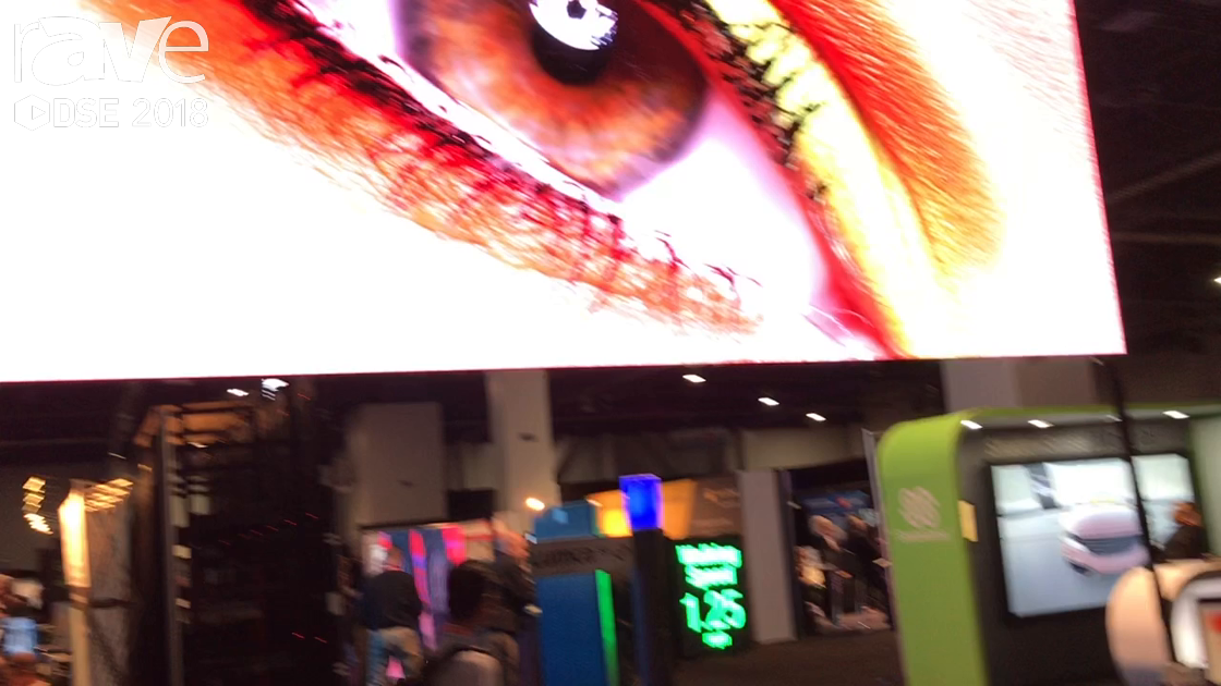 DSE 2018: CreateLED Stuns With AirMAG-S LED Display For HD Indoor Applications