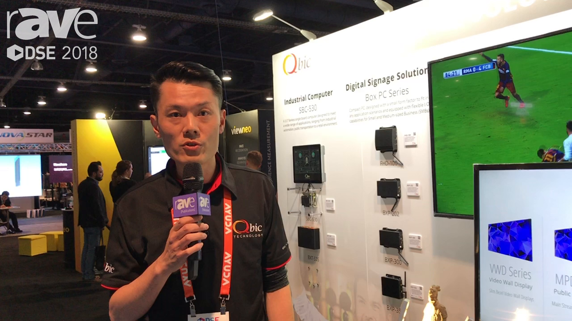DSE 2018: Qbic Technology Displays BXP-300 and GPIO Board for Engaging With Audiences