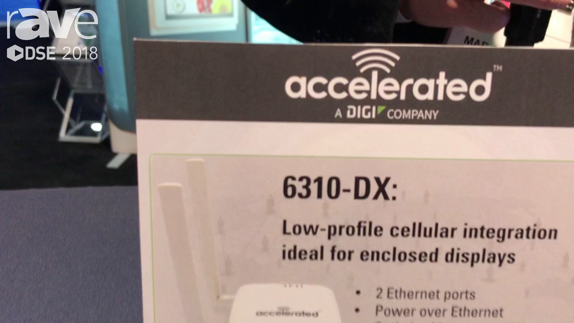 DSE 2018: Accelerated Concepts Shows 6310-DX Low Profile Router For Enclosed Displays