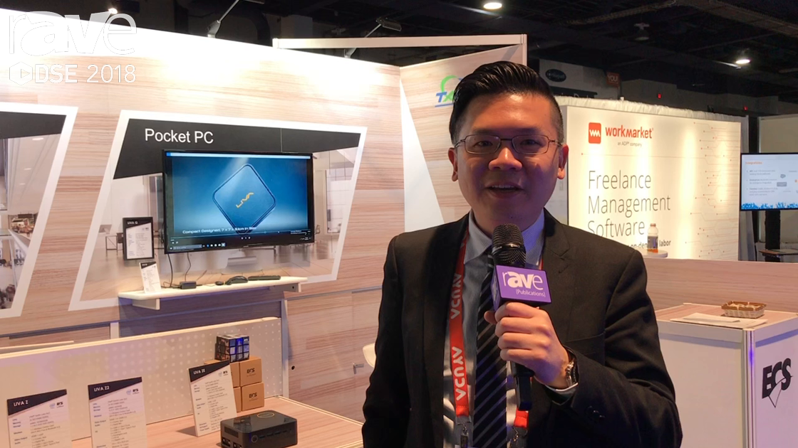 DSE 2018: Elitegroup Computer Systems CO Explains LIVA Z Mini PC For Industrual Use