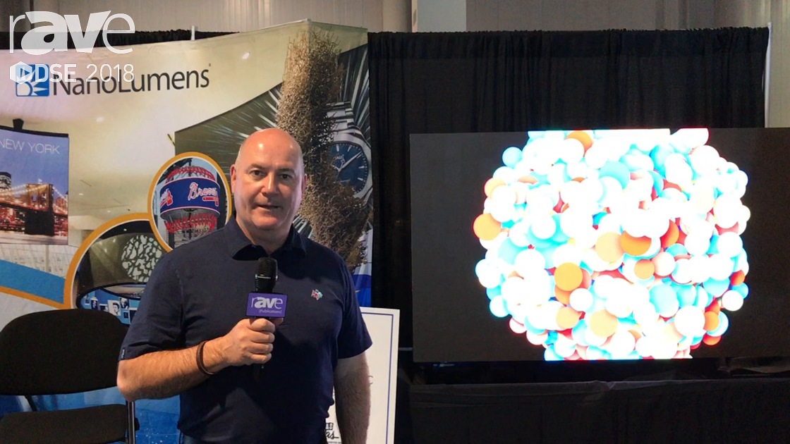 DSE 2018: NanoLumens Shows Off Fire-Retardant Nixel LED For Safe Display Technology
