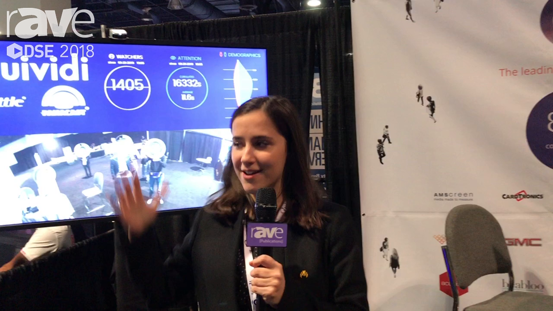 DSE 2018: Quividi Explains Audience and Attention Analytics For Digital Signage