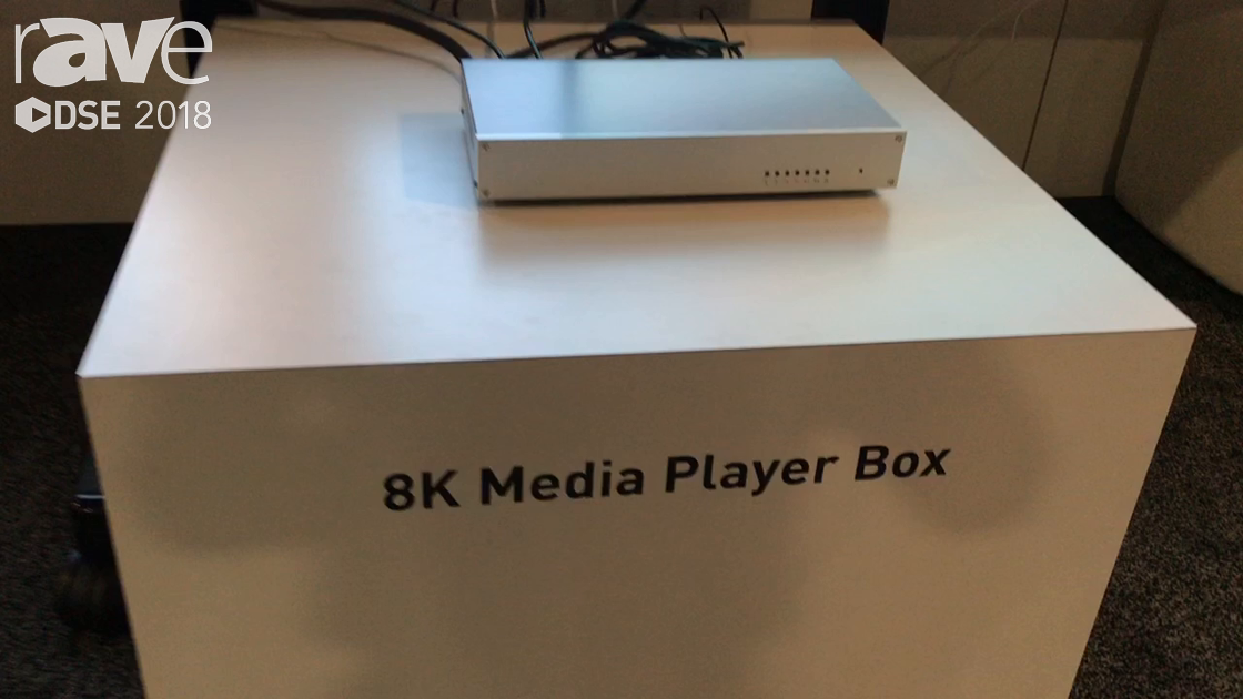 DSE 2018: Socionext Exhibits 8K Media Player Box For Video Walls