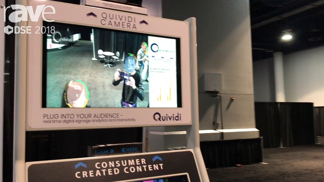 DSE 2018: Quividi Shows Partnership With Digital Experiential Media Network