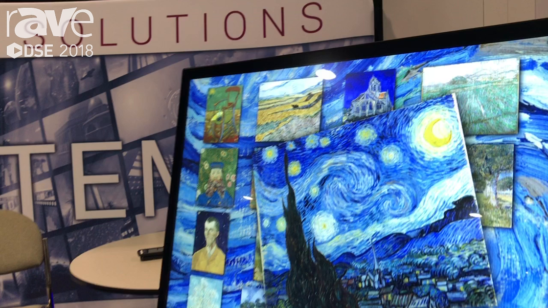 DSE 2018: TouchSystems Talks About Large Format NEC Display PCAP Touch Display